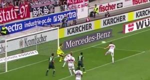 Christian Gentner schießt geniales Eigentor VfB Stuttgart Borussia Mönchengladbach