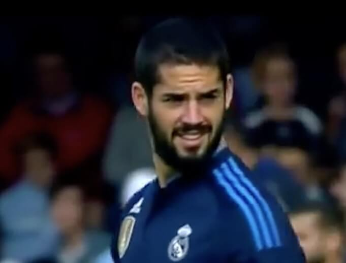 Isco im Trikot von Real Madrid. (Screenshot: YouTube/KnucKle Production)