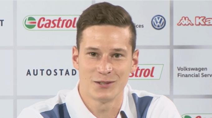 Neu-Wolfsburger Draxler begründet seinen Wechsel. (Screenshot:YouTube/Heinz Hammer)