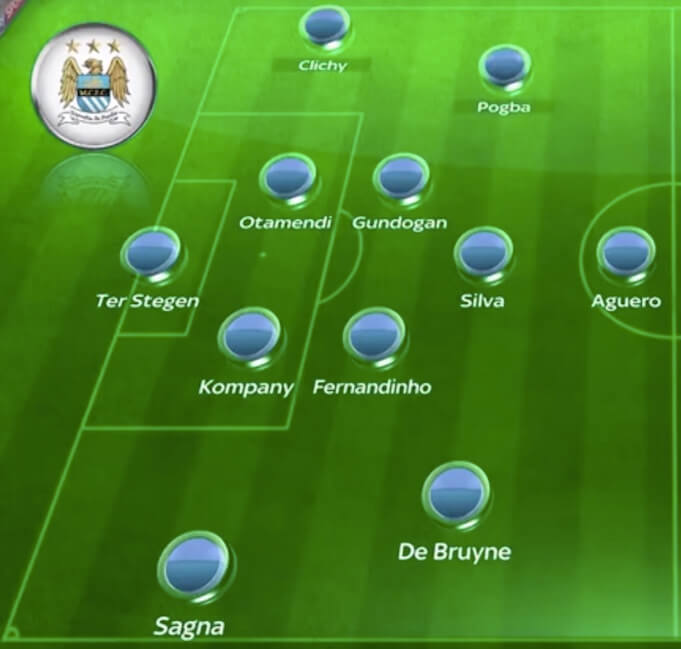 Manchester City 2016/2017 laut Thierry Henry. (Screenshot: YouTube/VIRALSME)