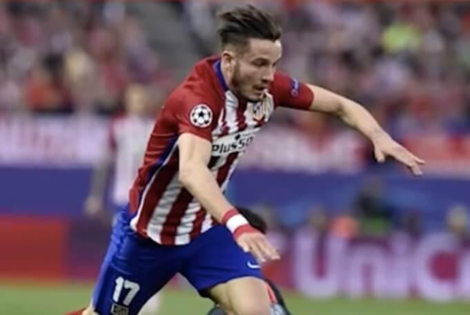 Saúl Ñíguez im Champions League Halbfinale gegen Bayern München. (Screenshot:YouTube/TYT Sports)