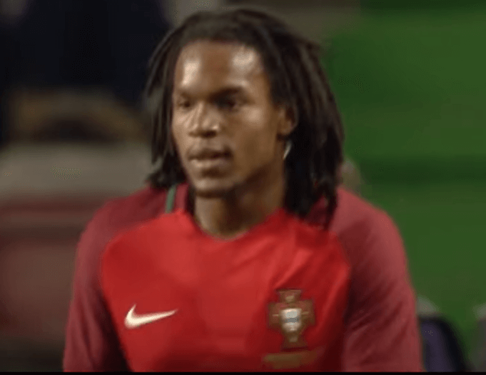 Renato Sanches im Trikot von Portugal: (Screenshot: Youtube/HabiHD)