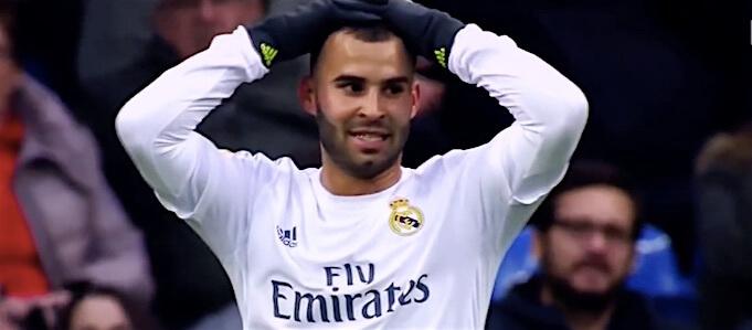 Jese im Trikot von Noch-Verein Real Madrid. (Screenshot:YouTube/RubikProd)