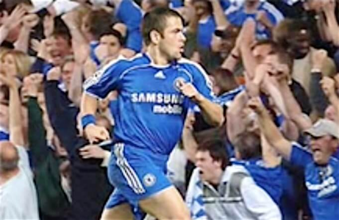 Joe Cole im Dienste des FC Chelsea London. (Screenshot:YouTube/Shizukasienna)