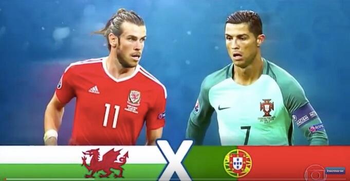 Das Duell Bale vs Ronaldo konnte der Portugiese für sich entscheiden. (Screenshot:YouTube/HQEuro2016)