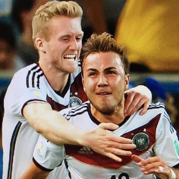 Nationalmannschaftskollegen Schürrle und Götze gehen kommende Saison auch für ihren Verein zusammen auf Torjagd. (twitter/Borussia Dortmund)