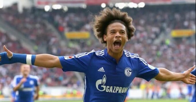 Schalkes Wundertalent Leroy Sane. (Screenshot:YouTube/FCB TV)