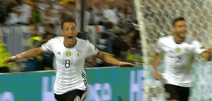 Die vermeintliche Erlösung für das deutsche Team: (Screenshot: Youtube/ZDFsport)